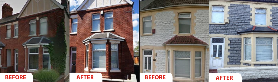 Brick And Stone Wall Cleaning Pro Point Uk